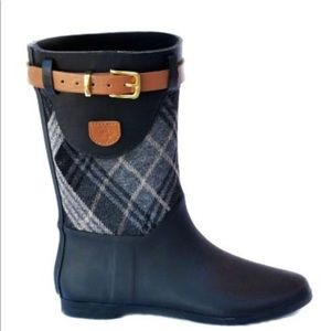 Dav Mid-Shaft Rain Boots